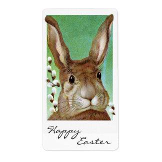 Conejo de Pascua Etiquetas De Envío