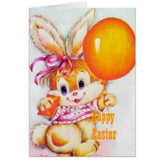 Conejo de Pascua Felicitación