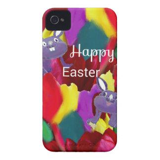 Conejo de Pascua iPhone 4 Case-Mate Cárcasas