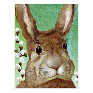 Conejo de Pascua Postal