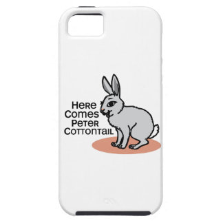 Conejo de rabo blanco de Peter iPhone 5 Case-Mate Cobertura