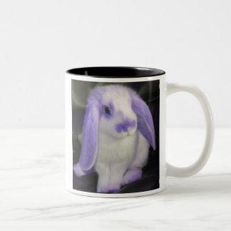 Conejo de Roxy de la lila Taza De Café