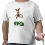 Conejo de salto camiseta