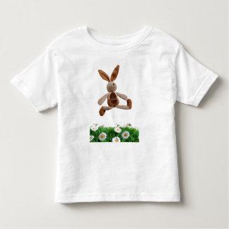 Conejo de salto playera de bebé
