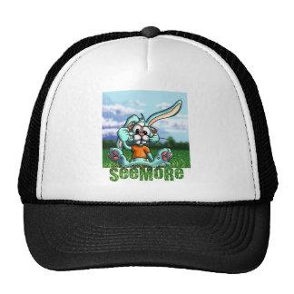 Conejo de Seemore con el letrero Gorro
