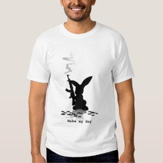 Conejo del asesino - haga mi día playera