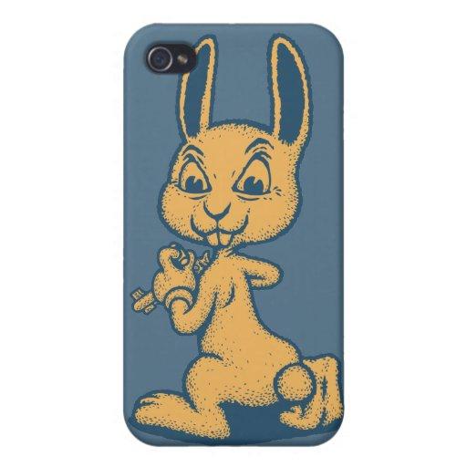 Conejo del asesino iPhone 4 protector