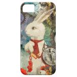 Conejo del blanco del país de las maravillas de St iPhone 5 Carcasa