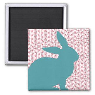 Conejo del bribón imán para frigorífico