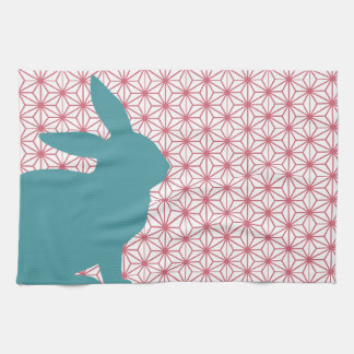 Conejo del bribón toallas de mano
