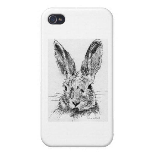 Conejo del conejo iPhone 4 carcasas