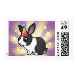 Conejo del cumpleaños (pelo liso del oído uppy) sello