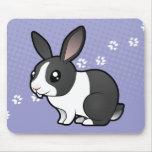 Conejo del dibujo animado (pelo liso del oído mouse pads