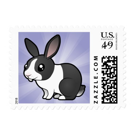Conejo del dibujo animado (pelo liso del oído franqueo