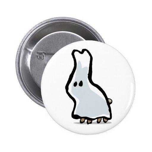 conejo del fantasma pin