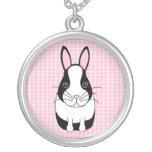 Conejo del holandés de Trixie Pendiente Personalizado