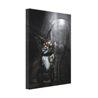 Conejo del mecanismo lona estirada galerías