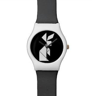 conejo del rompecabezas chino reloj