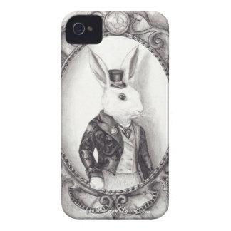 conejo del te - caso del iPhone 4/4S iPhone 4 Case-Mate Carcasas