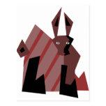 Conejo del tipo postal
