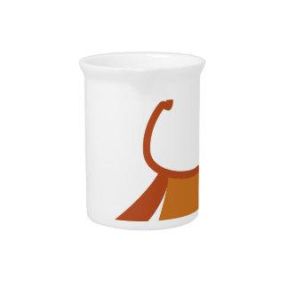 Conejo del vector jarras de beber