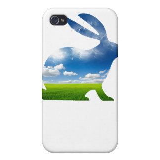 CONEJO DEL VERANO iPhone 4 CARCASAS
