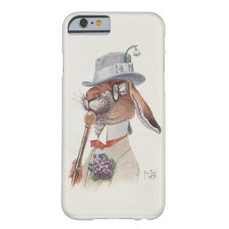 Conejo del vintage - arte antropomorfo por Thiele Funda De iPhone 6 Barely There
