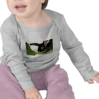 Conejo del zorro plateado camiseta