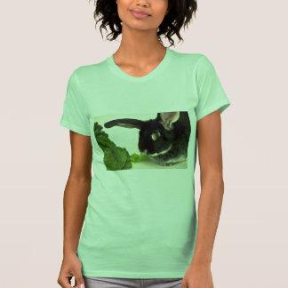 Conejo del zorro plateado camisetas