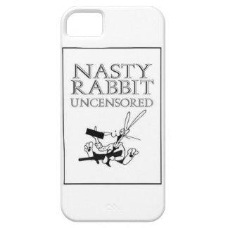 Conejo desagradable no censurado iPhone 5 Case-Mate protector