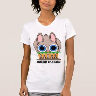 conejo divertido camiseta