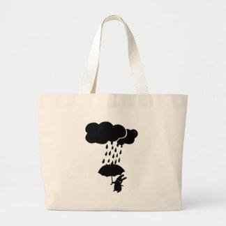 Conejo en la lluvia bolsa