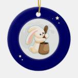 Conejo en la luna ornatos