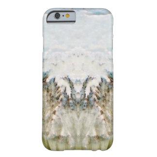 Conejo en primavera funda para iPhone 6 barely there