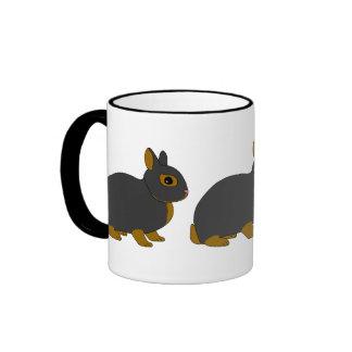 Conejo enano de Netherland Tazas De Café