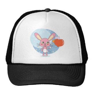 Conejo encantador gorra