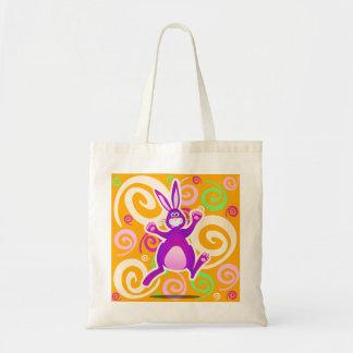 Conejo enrrollado, bolso