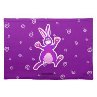 Conejo enrrollado, placemat mantel
