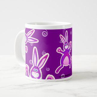 Conejo enrrollado, taza enorme