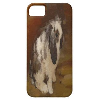 Conejo espigado del Lop del bebé hermoso iPhone 5 Funda