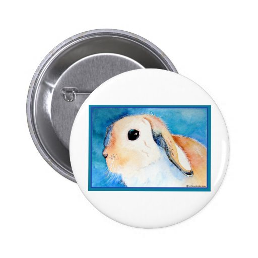 Conejo espigado del Lop Pin Redondo 5 Cm