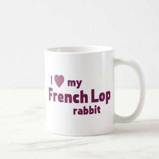 Conejo francés del Lop Taza