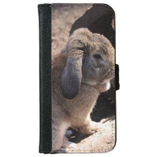 Conejo Funda Cartera Para iPhone 6