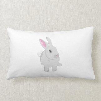 Conejo gris cojines