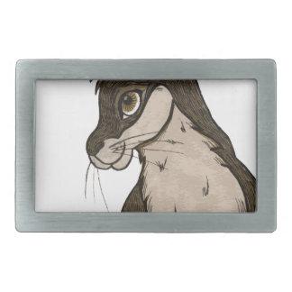 Conejo Hebillas De Cinturón Rectangulares