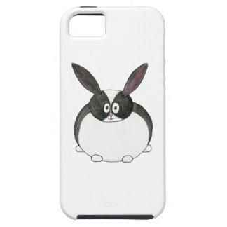 Conejo holandés blanco y negro iPhone 5 Case-Mate coberturas