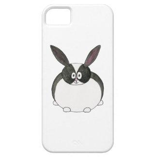 Conejo holandés blanco y negro iPhone 5 Case-Mate fundas