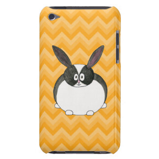 Conejo holandés blanco y negro Case-Mate iPod touch protector