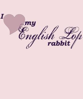 Conejo inglés del Lop Camisetas