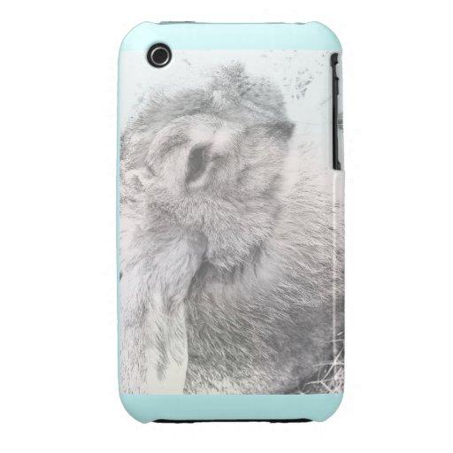 Conejo iPhone 3 Case-Mate Protectores